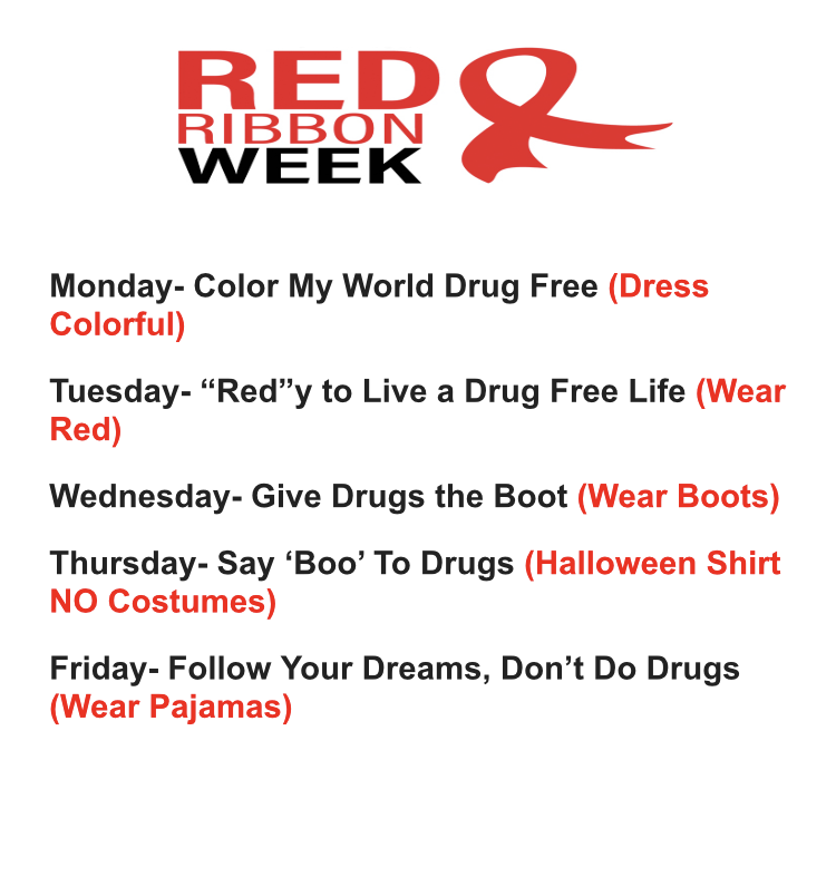 Red Ribbon Week- Elementary