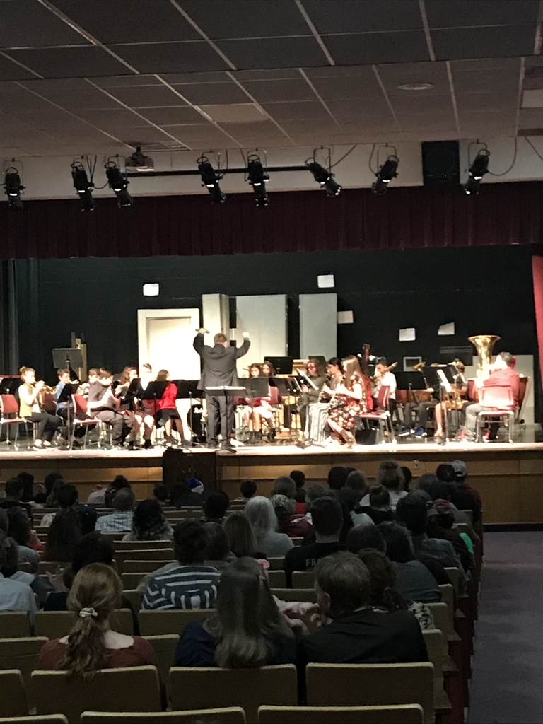 Winter Band Concert.